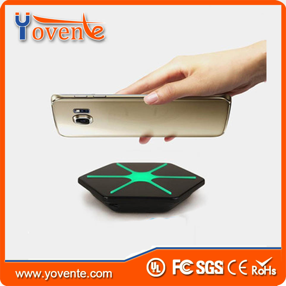 YOVENTE Mobile phone accessories manufacturer 5V 1A qi wireless charger for iphone 7
