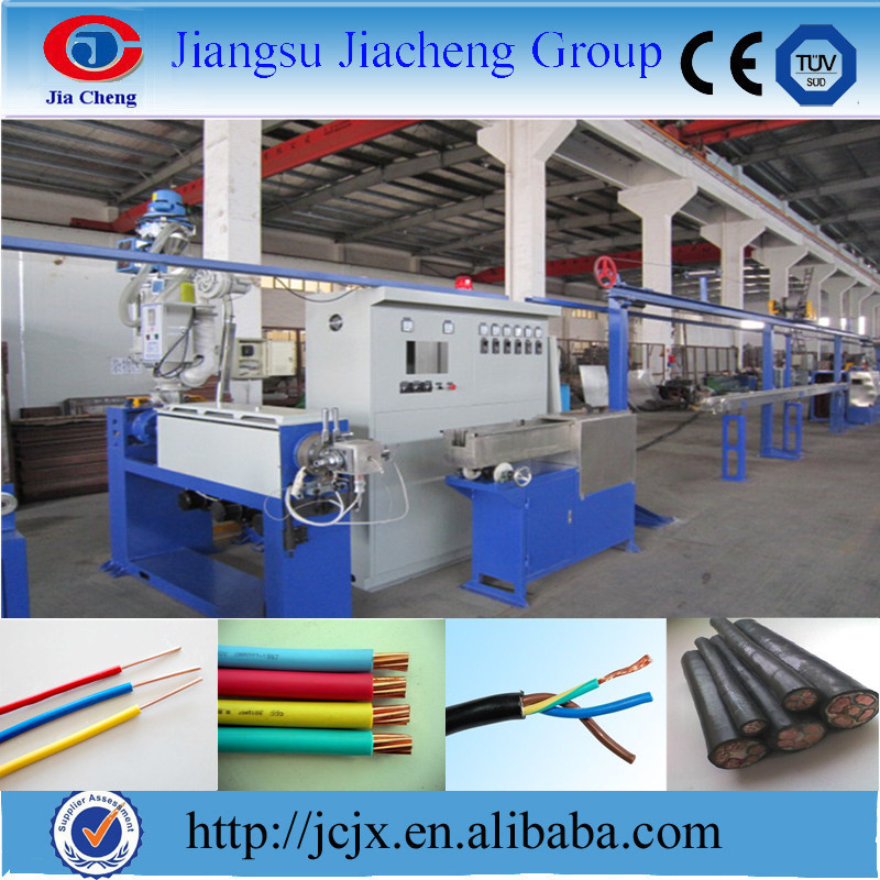 JCJX30-150mm Electrical Wire and Cable Extruder Plant