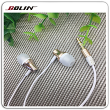 Super Bass Sounds earphones answer button 3.5mm Jack Studio Earphone for Smartphone and mobile phone