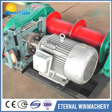Electric winch with 12v motor