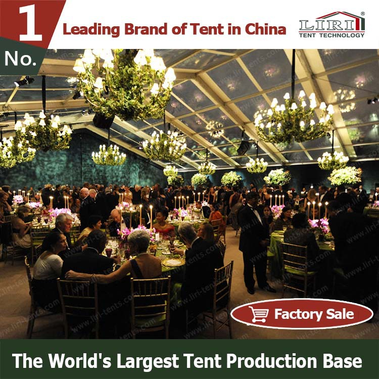 Clear roof Canopies and Tents for Wedding Event from China
