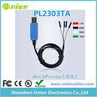 PL2303TA USB to TTL RS232 module upgraded USB serial port with shell TTL Updated