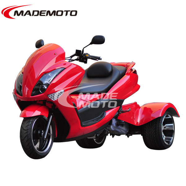 cheap three wheel scooter fashion sport quad bike racing motorcycle for adults