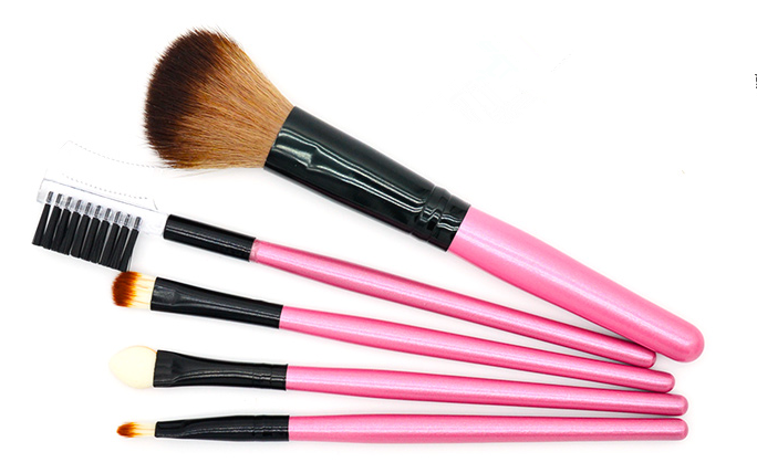 Shenzhen Cosmetics 5pcs Makeup Brush Concealer eyebrow brush