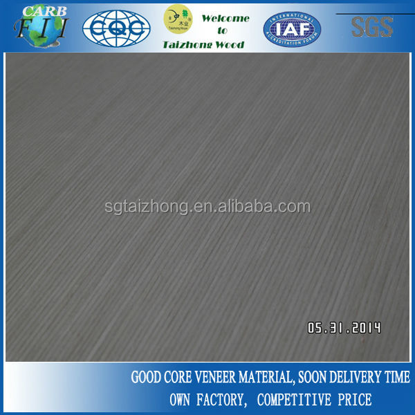Natural Straight Grain Ash Veneer Plywood