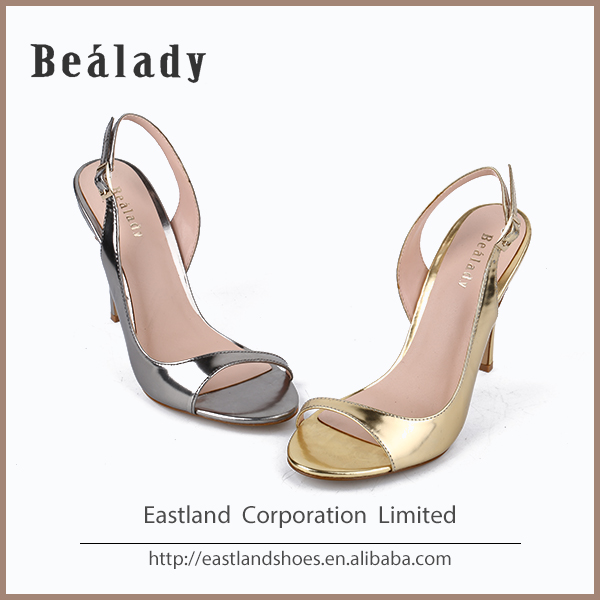 OEM/ODM 2016 sexy 10cm high heel mirror patent leather pumps women dancing shoes