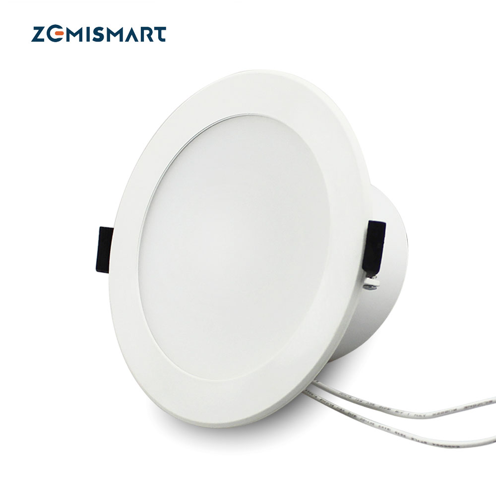 Zemismart Colorful 4 inch 10w Alexa Google Home Enable APP WiFi Led <strong>Downlight</strong>