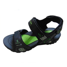 China high quaity sandal factory outdoor fashion latest men beach sandal of 2015