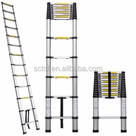 5m 6m Aluminium Folding Multipurpose Telescopic Tree Stand Super Ladder