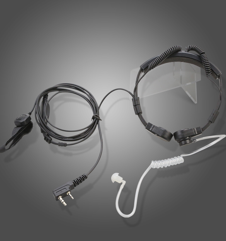 ear shaped hanging type earphones for two way radio