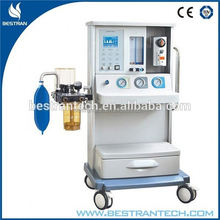 BT-2000J2B CE ISO Hospital 5.4'' LCD Display Screen 1 big vaporizer veterinary anesthesia unit