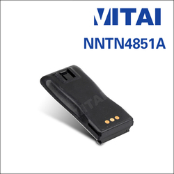 VITAI NNTN4851A 7.2V 1800mAh NI-MH FM Transceiver Rechargeable Battery