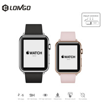 3D colorful full cover sport smart watch tempered glass cover offer 9H protect for your watch
