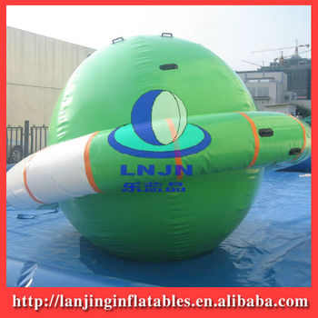 inflatable climbing water UFO/ inflatable water park