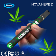Versatile vape pen for wax, dry herb Nova Wax D penis shaped e cigarette