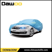 Winter use waterproof clear car cover