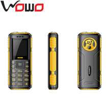 China Cheap Charger D90 with Two Torch Light Dual SIM Card GSM 1800mah Emergency Power Bank Feature Phone