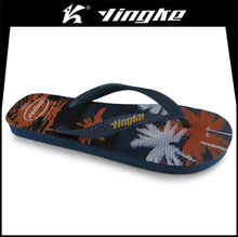 Custom summer high quality men flip flops rubber slipper manufacturers