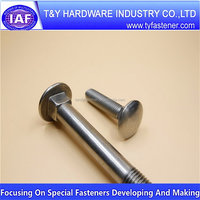 Cheap price custom Hot sale carriage bolt with wide head