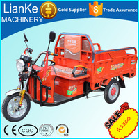 Electric tricycle for carog/three wheel cargo electrocar/adult big wheel tricycle