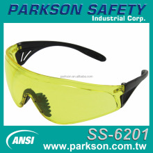 Taiwan 2017 NEW Fashion Elegant Design Protection Against Flying Aritcles Yellow ANSI Z87.1 SS-6201 Safety Glasses