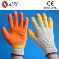 The hand work gloves for safety protection