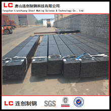 high quality black annealed square steel pipe / rectangular steel pipe /hollow section tube