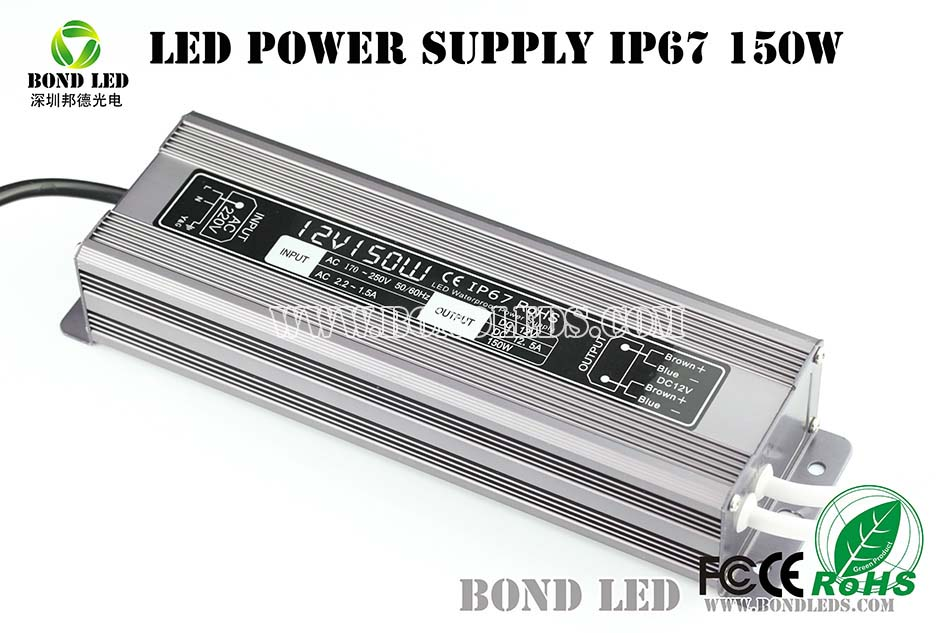 street light Constant current ultra-thin waterproof 80W 100W 120W 150W 200W led dimmable power supply