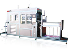 Litai Semi-automatic Blister clamshell Vacuum forming machine for plastic tray