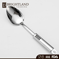 New Stainless Steel Long Rice Serving Spoon