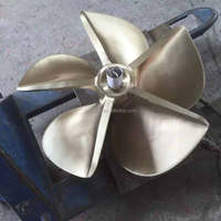 stainless steel fixed pitch marine 40 inches propeller