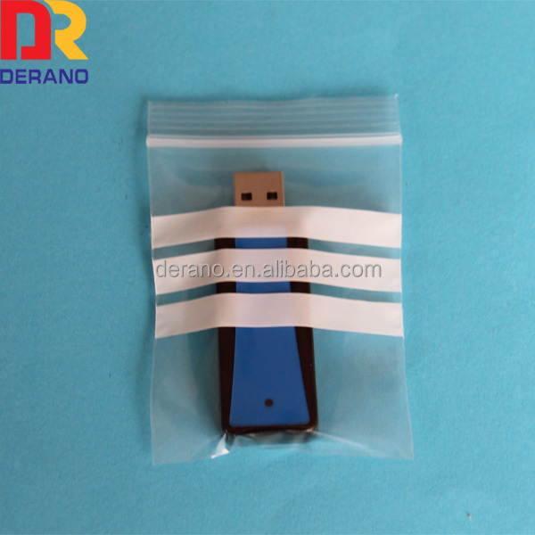 small resealable ziplock bag for packing USB cable