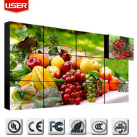 ultra narrow bezel 46 inch lcd video wall, large advertising screens