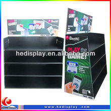 Cardboard Corrugated Floor Stand / play game Display Trays