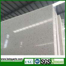 Pearl White Quartz Slab