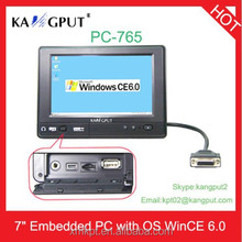 7 inch mini Embedded All In One PC with OS WinCE 6.0 (PC-765)