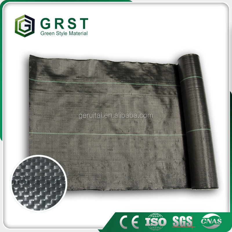 PP Woven Ground Cover/Mulch Film/Weed Mat for agricultural garden