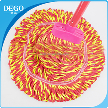 DEGO Cangnan factory recycled material cotton best mop cleaning floors