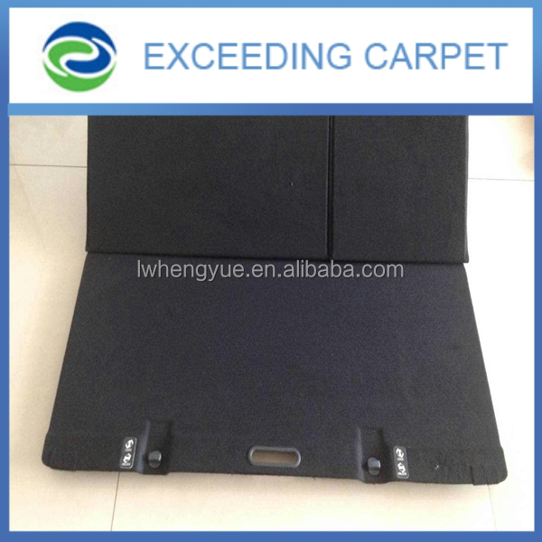 Nonwoven needle punched auto trunk use fabric,car floor carpet