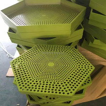 aluminum hexagonal perforated metal mesh for sale