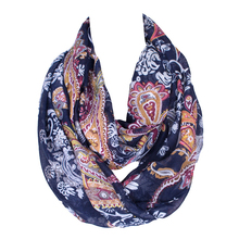 Thin fabric woman graceful spring neck gaiter florals custom logo heated sublimation scarf