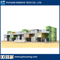 New Technology Comfortable Container Villa Hotel For Sale Can Be Customized