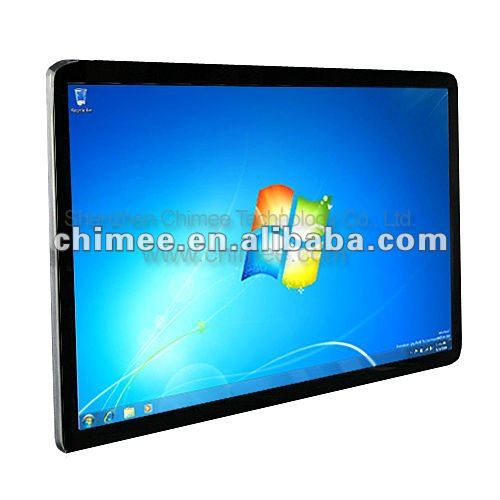 55 inch LED wall hanging round corner all in one keyboard pc