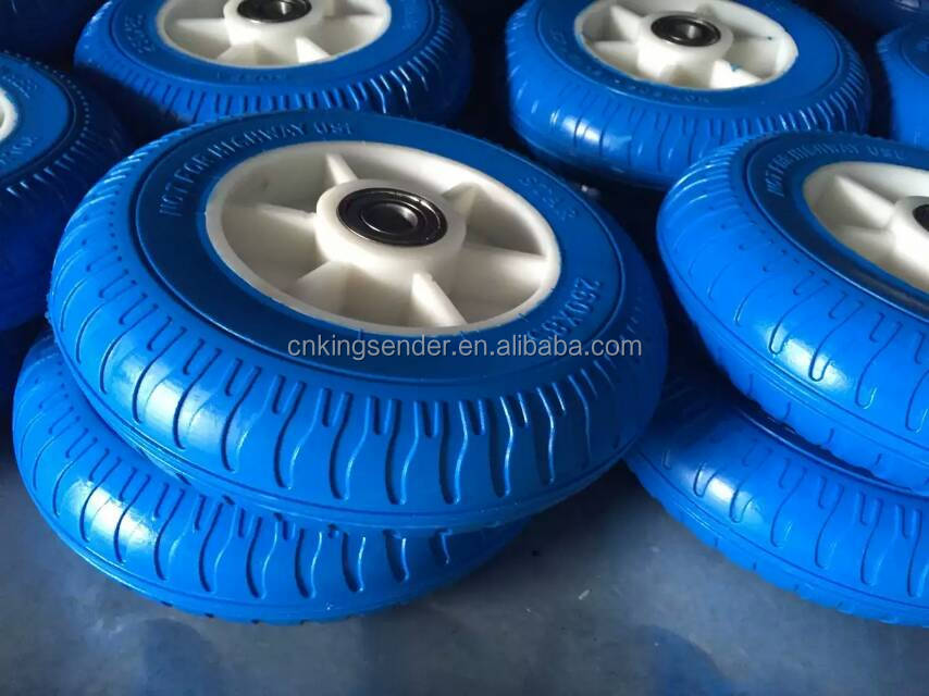 10x3.50-4 pneumatic rubber trolley wheels