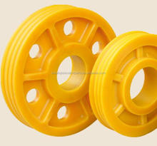 Elevator Nylon Deflector Sheave Pulley Sheave for 630kg~1600kg Machine Room less Elevator
