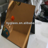 supply 3-6MM Silver/Aluminium brown glass mirror