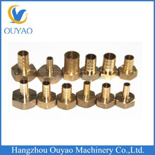 Brass Hexagonal Female BSP Thread Hose Barbed Reducing Coupling