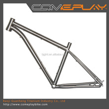 professional polishing titanium mountain bike frame factory