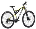 M06 Custom painting 29er full suspension MTB carbon frame 29