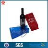 High Quality wholesale custom beautiful single bottle wine bag PVC wine ice bag with handle